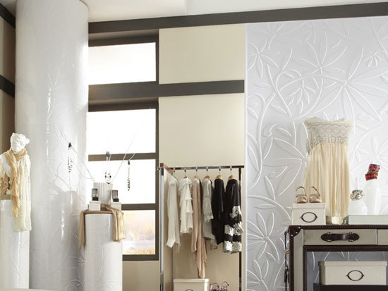 Audrey - MirroFlex - Wall Panels Pack - Gloss White Paintable
