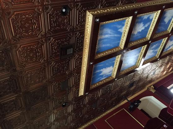 Elizabethan Shield – Faux Tin Ceiling Tile – 24″x24″ – #DCT 04 - Antique Copper