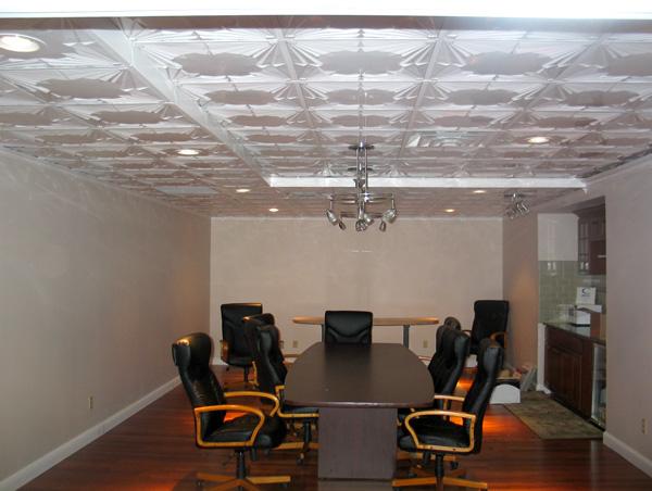 Art Deco – MirroFlex – Ceiling Tiles Pack - Gloss White Paintable