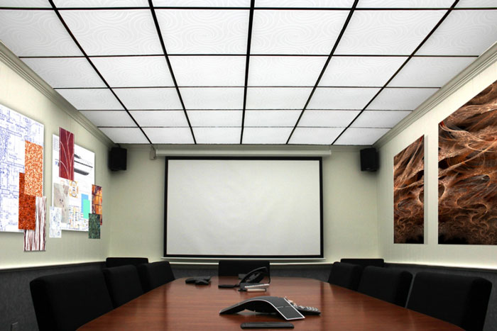Hurricane – MirroFlex – Ceiling Tiles Pack - Gloss White Paintable