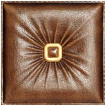 Buckle Up - Faux Leather tile - #DCT LRT02 - Caramel