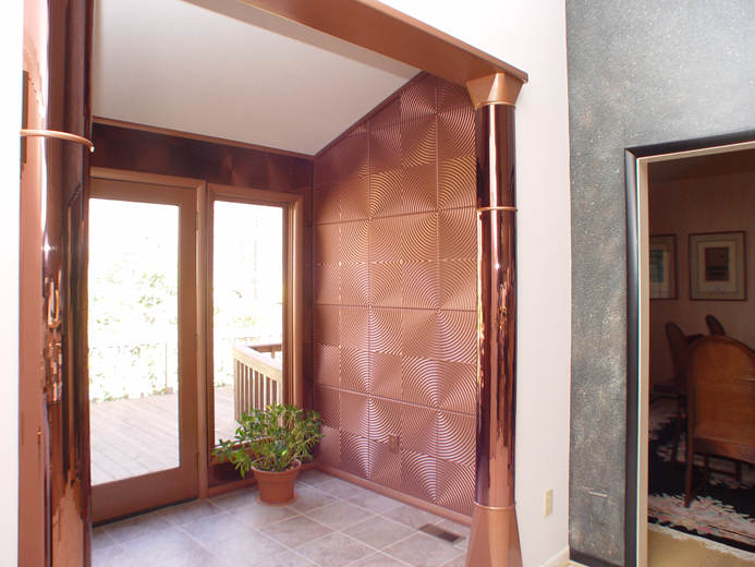 Curvation – MirroFlex – Wall Panels Pack - Argent Copper