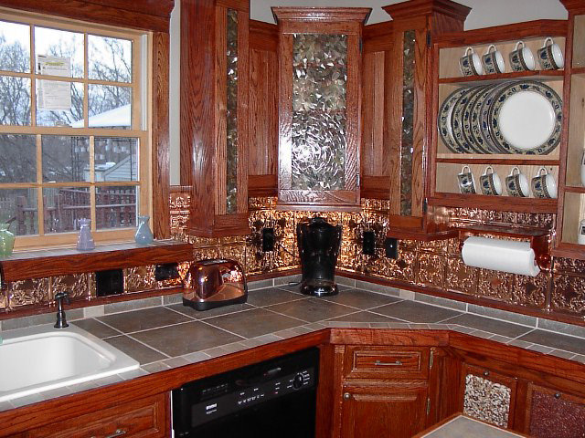 Copper Backsplash - Decorative Ceiling Tiles, Inc. Store