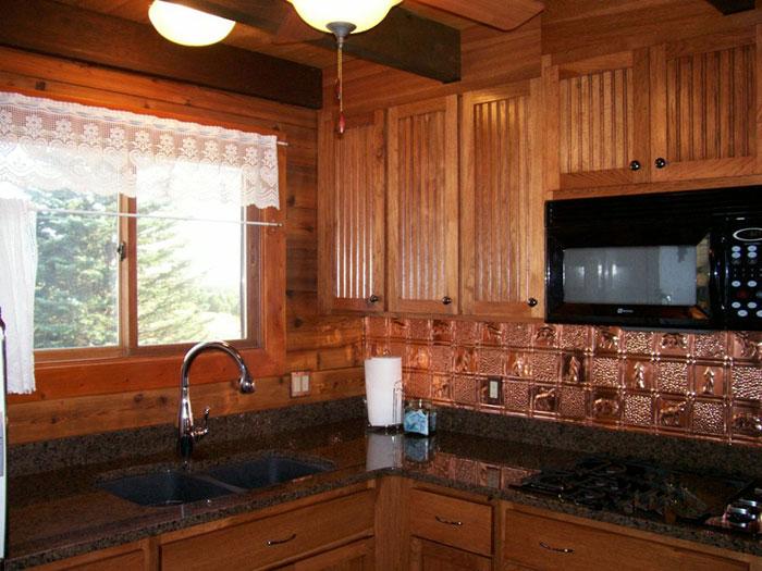 Gwen's Cabin - Copper Backsplash Tile - #0512 - Solid Copper