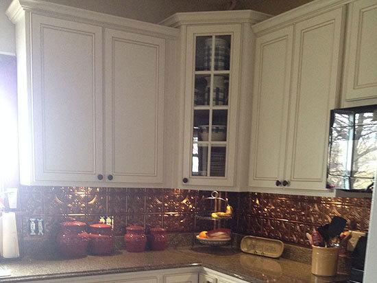 Princess Victoria - Copper Backsplash Tile - #0604 - Solid Copper
