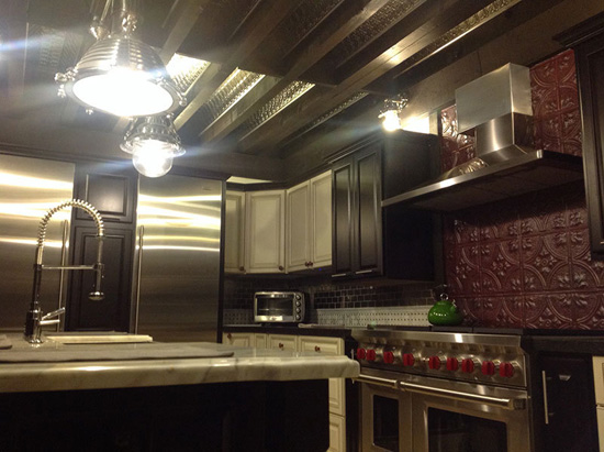 Princess Victoria - Aluminum Backsplash Tile - #0604 - Solid Copper