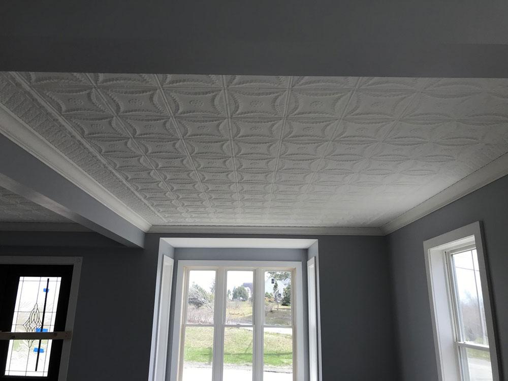 Delicate Daisies – Aluminum Backsplash Tile – Custom / Replicas – #0607 - White