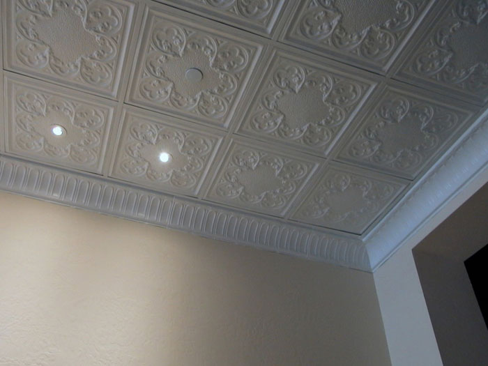 Stately Arches – Aluminum Cornice – Nail up – #EC0601 - White