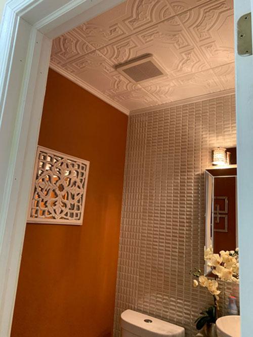 Evergreen – Styrofoam Ceiling Tile – 20×20 – # R28c - Ultra Pure White