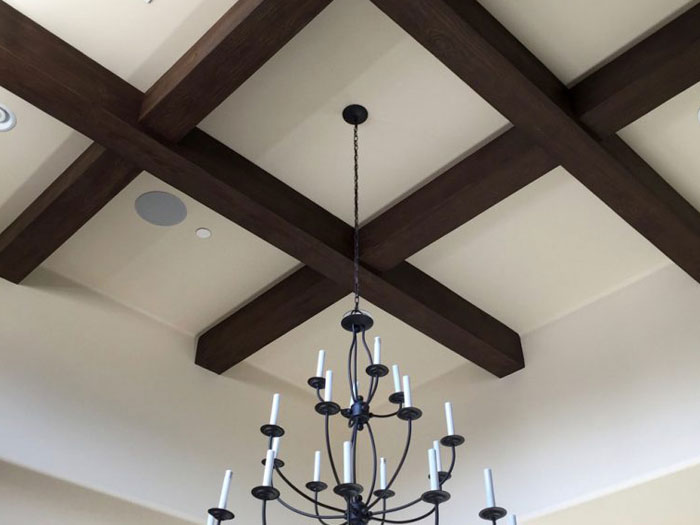 Faux Wood Beams - Doug Fir+Sand Blast