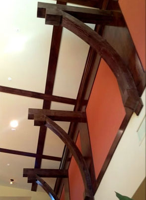Faux Wood Ceiling Brackets