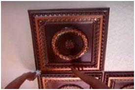 PVC Faux Tin Ceiling Tiles