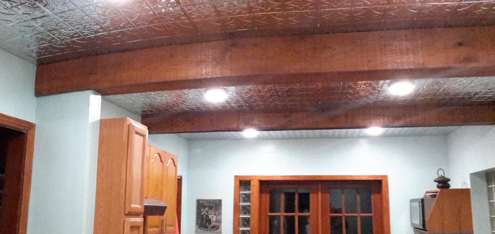 Princess Victoria – Tin Ceiling Tile – #0604