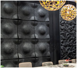 Decorative Wall Panels at Lounge