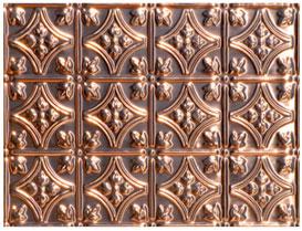 Princess Victoria – Copper Backsplash Tile – #0604