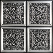 Lover's Knot – Faux Tin Ceiling Tile – Glue up – 24″x24″ – #231