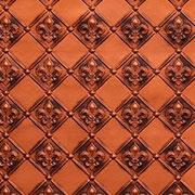 """Fleur de Lis – 3 """" Pattern – Faux Tin Backsplash Roll – #WC 80"""
