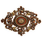 Vines Garden – FAD Hand Painted Ceiling Medallion – #CCMF-123