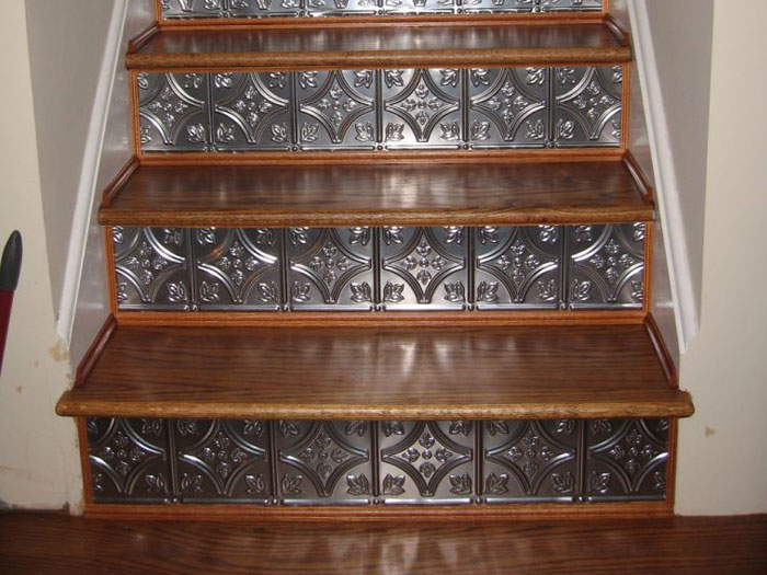 Shanko - Tin Plated Steel - Wall and Ceiling Patterns - #209 - Lacquered Steel