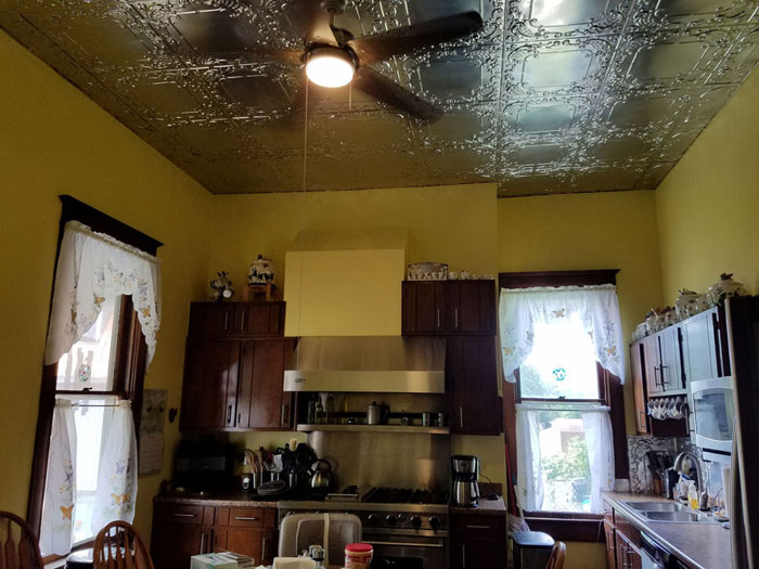 Shanko - Tin Plated Steel - Wall and Ceiling Patterns - #515 - Lacquered Steel