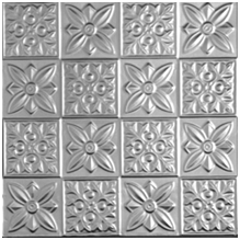 Flower Power – Aluminum Ceiling Tile – #061