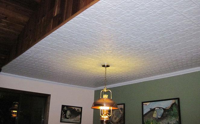 Princess Victoria - Aluminum Ceiling Tile - #0604 - White