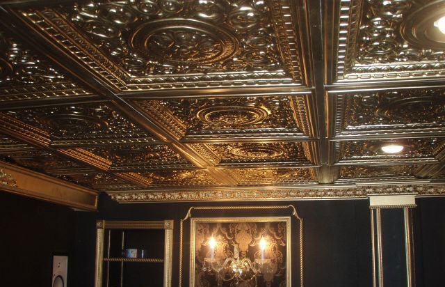 Rhine Valley - Faux Tin Ceiling Tiles - Drop In - 24