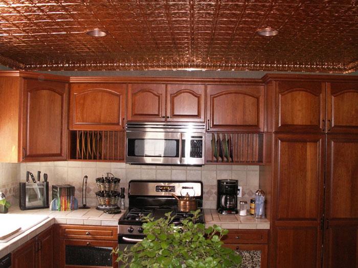 Princess Victoria – Copper Ceiling Tile – #0604 - Solid Copper