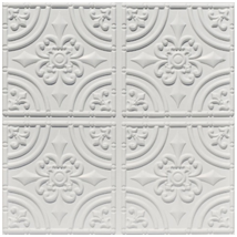 PVC –Wrought Iron – Faux Tin Ceiling Tile – #205