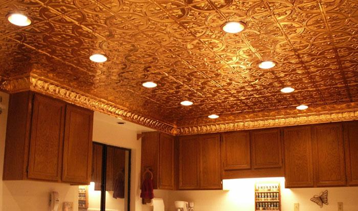 Queen Victoria – Copper Ceiling Tile – #1204 - Solid Copper