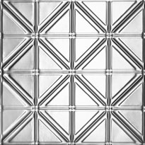 Jazz Age - Aluminum Ceiling Tile - #0606 - Mill Finish