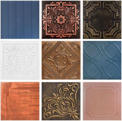 """The Virginian – Styrofoam Ceiling Tile – 20""""x20"""" – #R08 - Plain White"""
