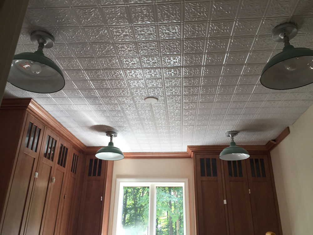 Shanko – Tin Plated Steel – Wall and Ceiling Patterns – #211 - White