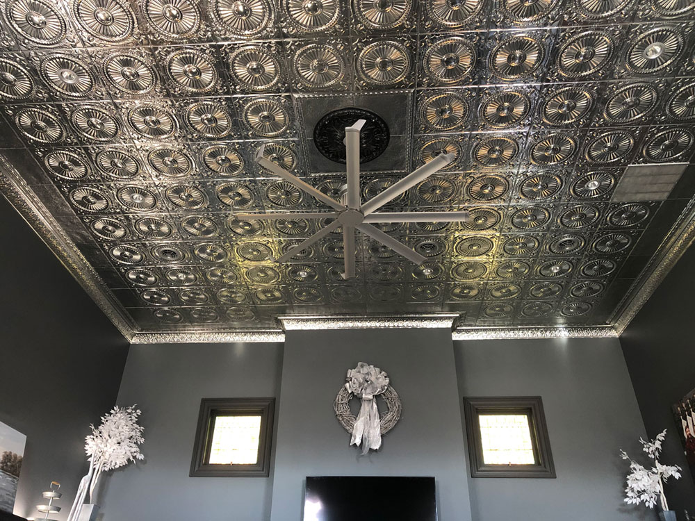 Shanko – Tin Plated Steel – Wall and Ceiling Patterns – #525 - Laquered Steel