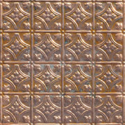 Princess Victoria – Copper Ceiling Tile – #0604