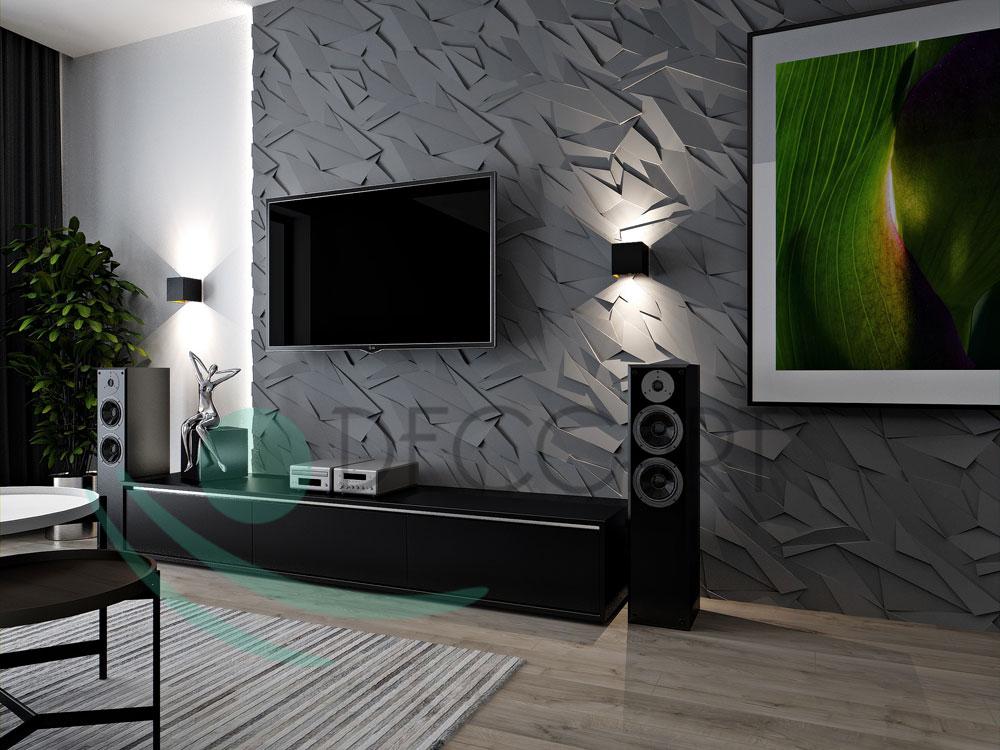 Sapphire 2ft. x 2ft. Seamless Glue-up Wall Panel - Plain White