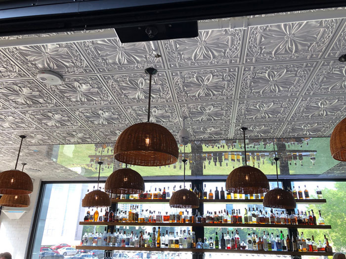 Faux Tin Ceiling Tile – 24 x 24 – #DCT 10 – Antique Taupe