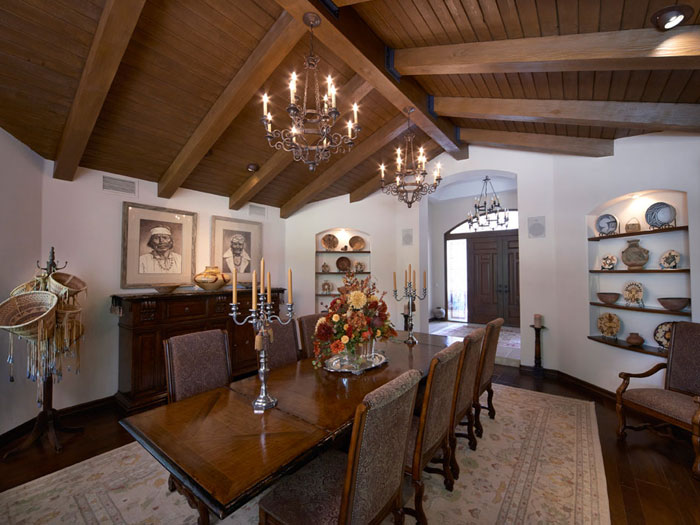 Faux Wood Beams – Oak