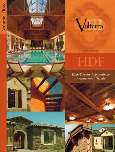 Volterra - HDF Faux Wood Beams and Architectural Details - Paper Catalogue