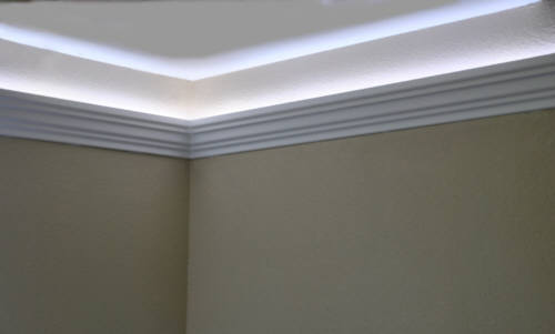 LED ... & Install raceway wires LED rope and indirect lighting in Foam ... azcodes.com