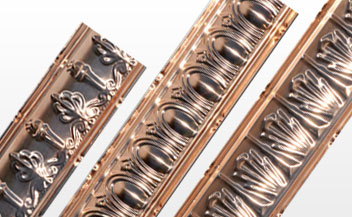 SOLID COPPER CORNICES