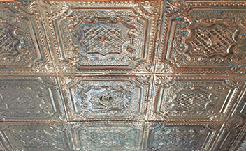 SOLID COPPER CEILING TILES