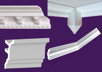 Styrofoam Crown Molding