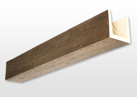 FAUX WOOD MONOLITHIC BEAMS