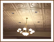 Living/Dining ceiling tiles
