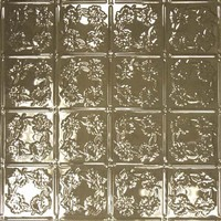 Tin Ceiling Tile Finish - Chocolate