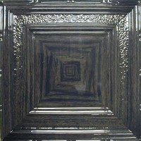 2402 Aluminum Ceiling Tiles in Dark Stain Oak finish and many other available at www.decorativeceilingtiles.net
