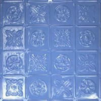 0613 Aluminum Ceiling Tile - Sea of Blue Finish and many others are available at www.decorativeceilingtiles.net