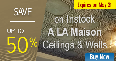 On In-Stock A La Maison Ceilings & Walls Save Upto 50%