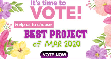 PHOTO CONTEST - Best Project of March 2020 - Vote Now